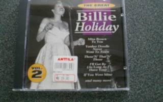 The Great Billie Holiday