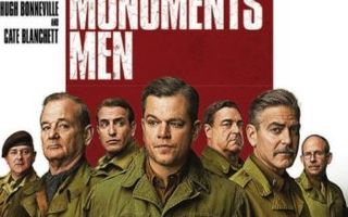 The Monuments Men  -  (Blu-ray)