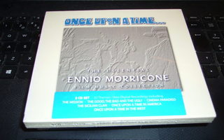 2CD : Ennio Morricone : ONCE UPON A TIME... ( UUSI )