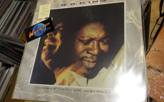 B.B. KING - COMPLETELY LIVE AND WELL M/EX+ 2LP