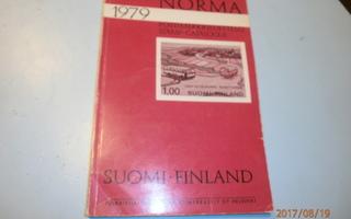 NORMA 1979 POSTIMERKKILUETTELO