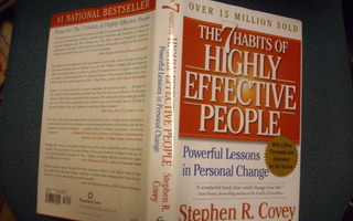 Stephen R. Covey: The 7 Habits of Highly Effective People