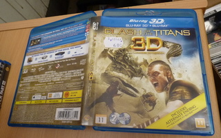 Clash Of The Titans 3D  ( Blu-ray  3D + Blu-ray ) 10167