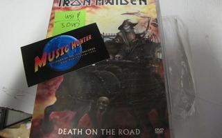 IRON MAIDEN - DEATH ON THE ROAD 3DVD UUSI