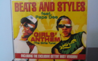 Beats and Styles - Girls Anthem (The Girlie Tune) CD-Single