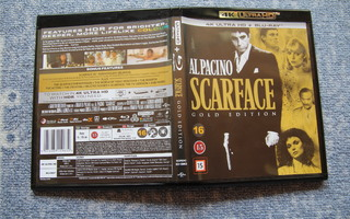 Scarface Gold Edition - 4K UHD HDR + BD [suomi]