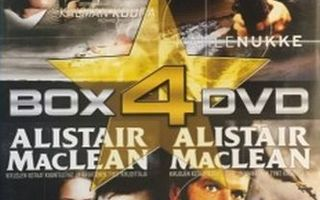 Alistair MacLean Collection  -  (4 DVD Box)