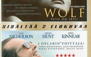 Wolf / elämä on ihanaa(11500)k-FI-suomik.DVD(2)egmon
