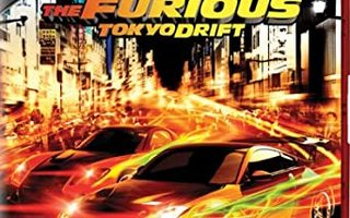 The Fast and The Furious :  Tokyo Drift  -  (HD DVD)