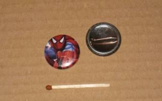 """Spiderman cartoon 2 rintanappi 1"""" c5"""