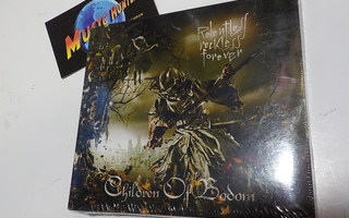 CHILDREN OF BODOM - RELENTLESS RECKLESS FOREVER UUSI CD+DVD