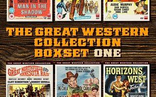 great western coll. one(68752)UUSI-GB-DVD(6)6 movi