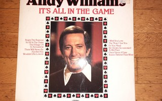 Andy Williams - It's All In The Game (1973) LP levy