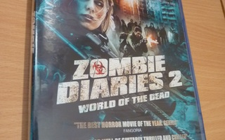 Zombie Diaries 2 - World Of The Dead   ( Blu-ray ) UUSI