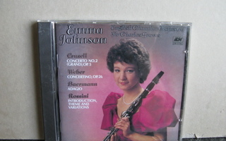 Emma Johnson:Crusell,Weber,Baermann,Rossini cd