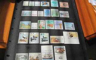 Ahvenanmaan postimerkit v.1984-1995 Kaikki ** Postituoreena