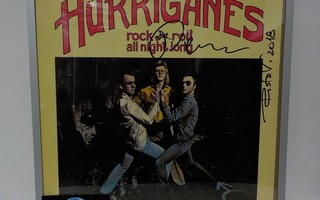 HURRIGANES - ROCK AND ROLL ALL NIGHT LONG LP + 2 NIMMARIA