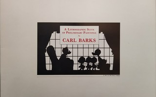Lithograph 29 - Barks, Carl – A Lithographic Suite I