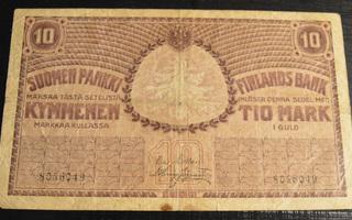 10 Markkaa 1909 8056049