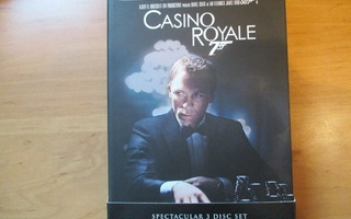 007 CASINO ROYALE DELUXE EDITION 3 DISC SET