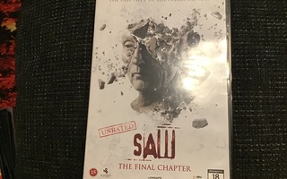 SAW THE FINAL CHAPTER  *DVD*