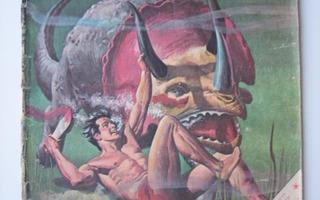 TARZAN LEHTI /SARJAKUVALEHTI 7/1968 LIIMAA, PATINAA,PALA P