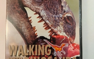 DVD)  Walking with Dinosaurs - PUHUMME SUOMEA (BBC)