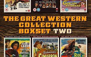 Great Western Coll. two(68753)UUSI-GB-DVD(6)6 movi