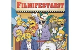 DVD: Simpsonit Filmifestarit ja Backstage Pass