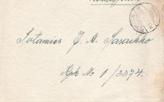 1941, Kirje Kenttäpostia, Tervakoski