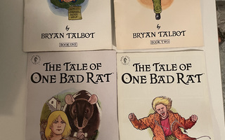 The Tale of One Bad Rat, 1-4 full set