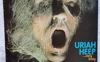 Uriah Heep  – ...Very 'Eavy ...Very 'Umble LP RARE PAINOS