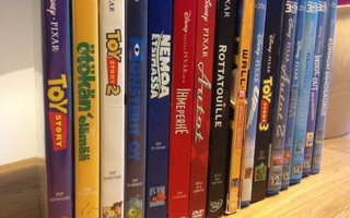 [ DVD / Blu-Ray ] Disney Pixar Collection (14 kpl)