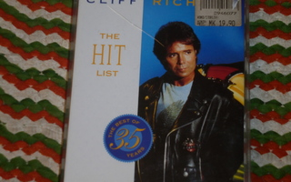 C-kasetti - CLIFF RICHARD  The Hit List - 1994 rockabilly EX