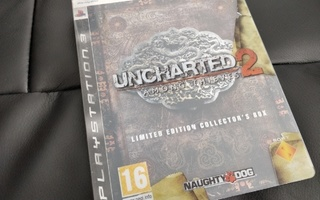 Uncharted 2 Among Thieves Limited Edition Collector's Box