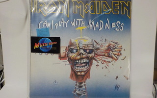 IRON MAIDEN - CAN I PLAY WITH MADNESS M-/EX+ EP