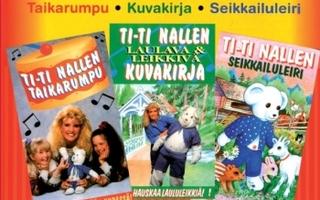DVD: Ti-Ti Nalle - Taikarumpu, Kuvakirja ja Seikkailuleiri