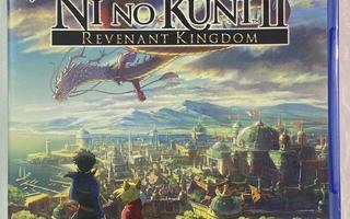 Ni No Kuni 2: Revenant Kindom - PS4 ( uusi )