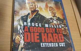 A Good Day To Die Hard    ( Blu-ray )  UUSI
