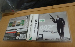 007 Quantum of Solace   NINTENDO DS 10728