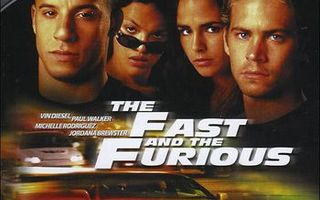 The Fast and The Furious  -  (HD DVD)