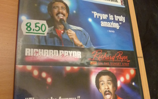 Richard Pryor Stand-up Comedy Double Feature 2 x dvd