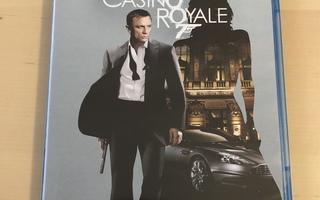 James Bond 007 - Casino Royale Blu-ray elokuva