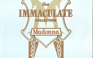 MADONNA : The immaculate collection