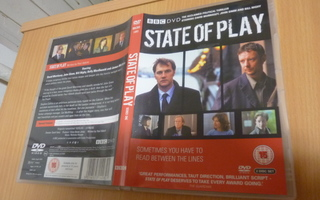 State Of Play (BBC)  2 x dvd