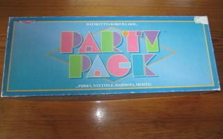 Party pack- illanistujaisten peli