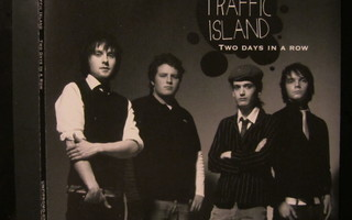 Traffic Island - Two Days In A Row PROMO CDr-Single