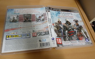 Assassin's Creed Birth Of A New World - The American  (ps3)