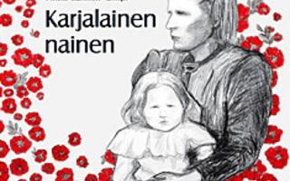 KARJALAINEN NAINEN : Pirkko Sallinen-Gimpl sid  UUSI