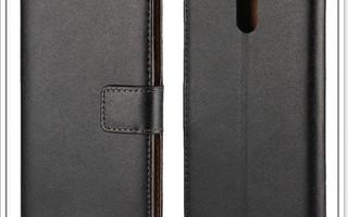 Nokia 3 - Musta Premium suojakuori & suojakalvo #23369